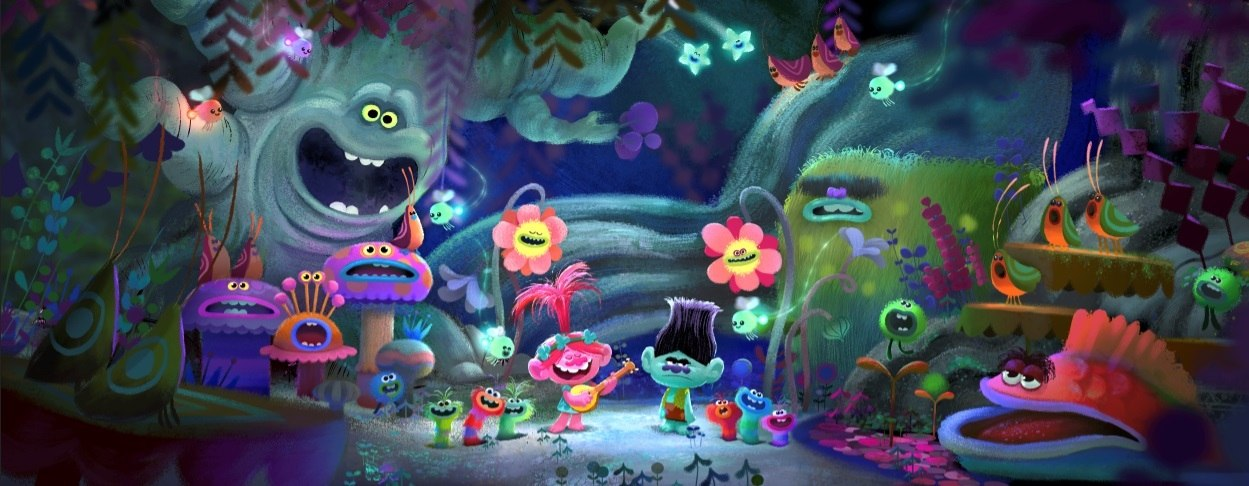 The Smurfs 2 3d Live Wallpaper Dreamworks Animation S Trolls Ready To Invade Hall H