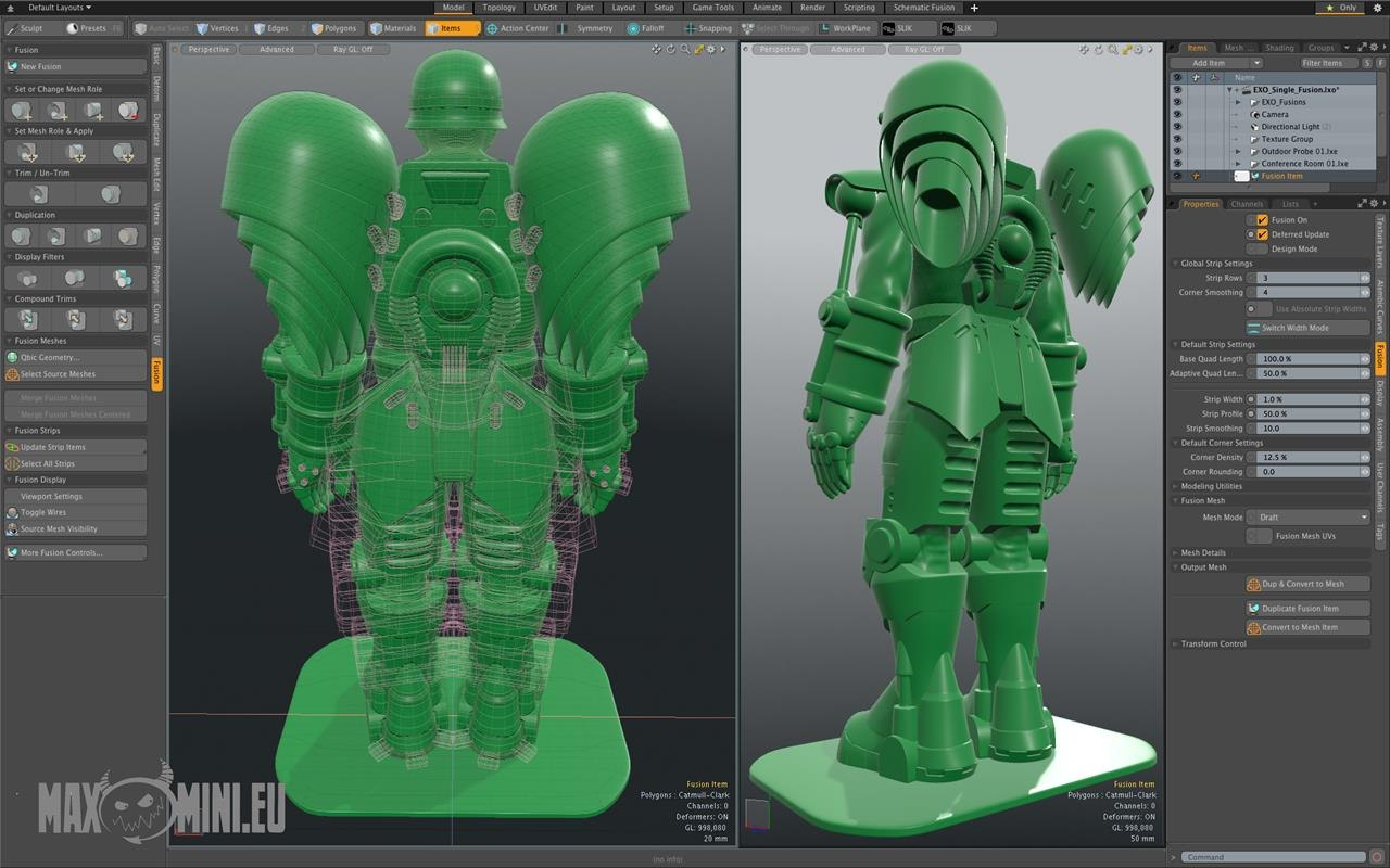 3d Modeling Rendering And Animation The Foundry Releases Modo 10 2 Animation World Network