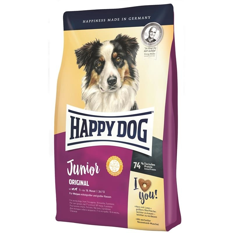 Hundefutter Junior Happy Dog Supreme Young Junior Original Von Happy Dog