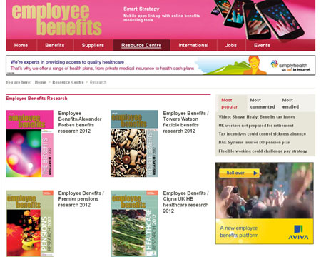 View our new Capita employee benefits website Employee Benefits - web flyer