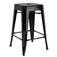 Homegear 4 Pack Stackable Metal Kitchen Stools / Chairs | eBay
