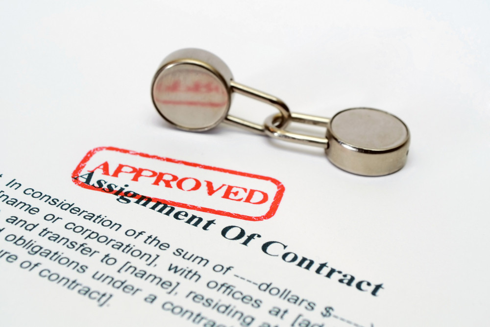 Assignment Of Contract Royalty-Free Stock Image - Storyblocks Images