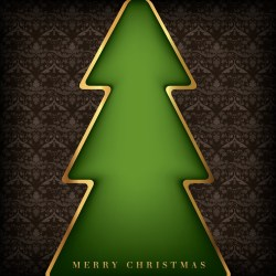 Small Crop Of Christmas Card Background