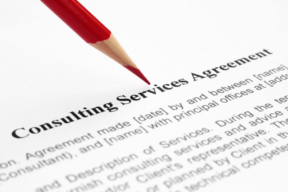 Consulting Service Agreement Royalty-Free Stock Image - Storyblocks
