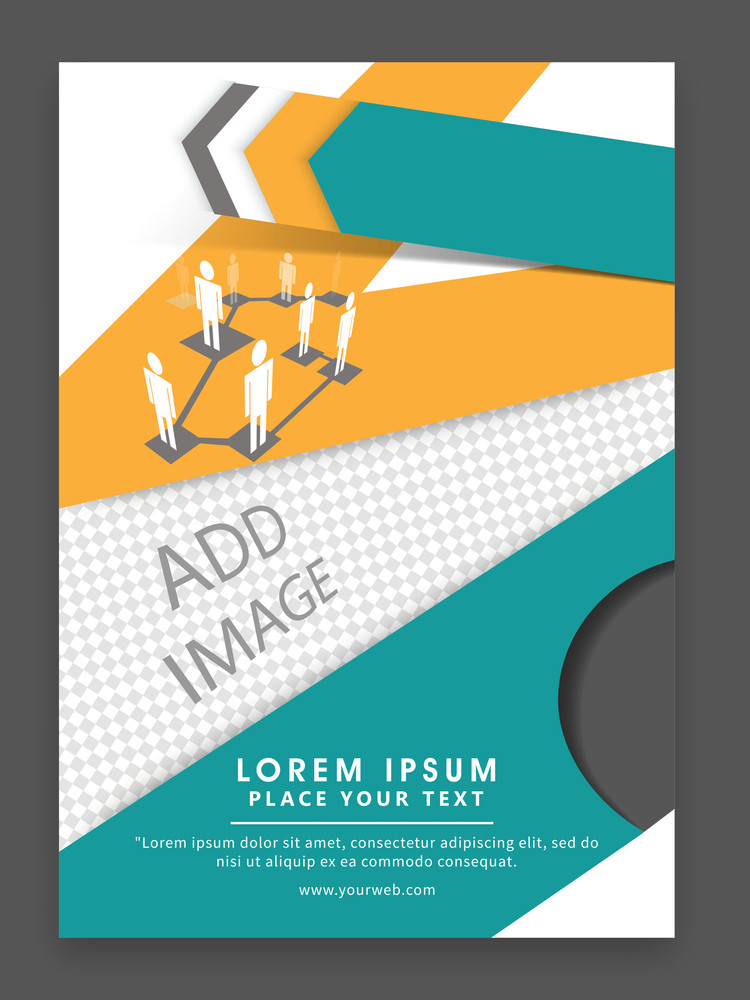 Creative professional one page Business Flyer Banner or Template