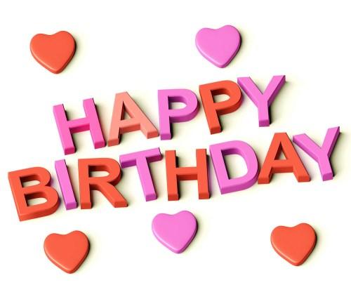Medium Of Happy Birthday Heart