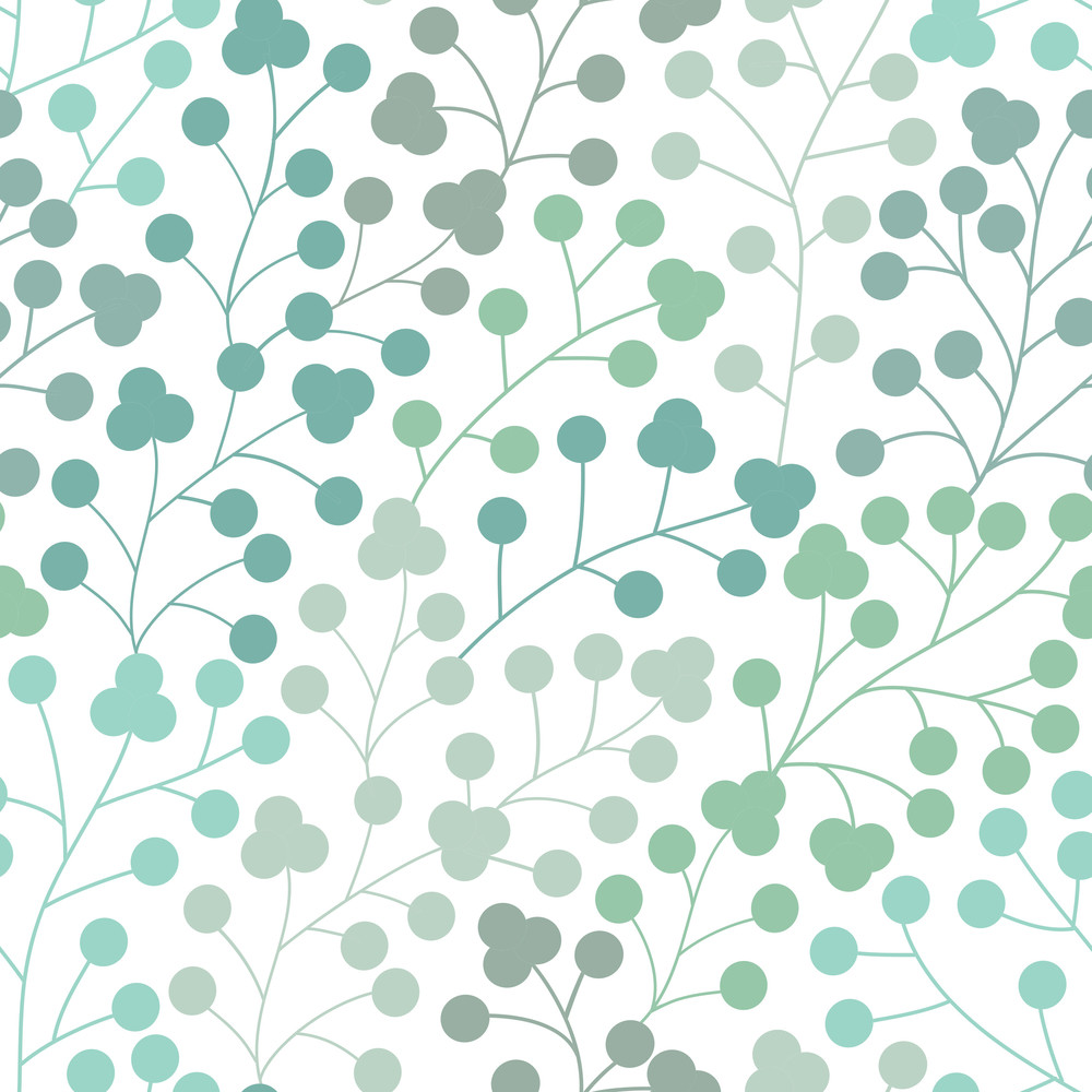 Raindrops Falling On Flowers Wallpaper Seamless Pattern With Leaf Seamless Texture Can Be Used