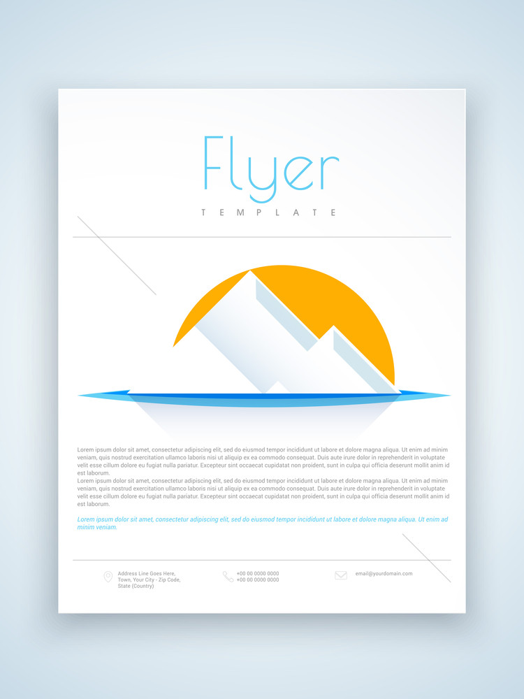Pretty Azure Flyer Template Images -- Club Dj Flyer Psd Template To
