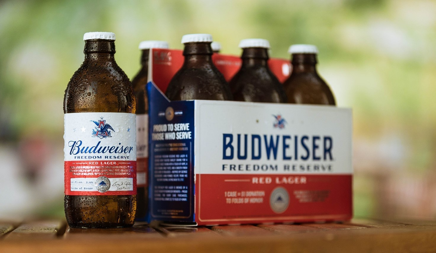 Freedom Bed Head Anheuser Busch Releases Budweiser Freedom Reserve Red Lager