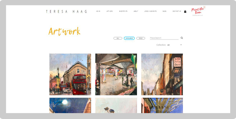 Building the Best Online Portfolio for Your Art Artwork Archive