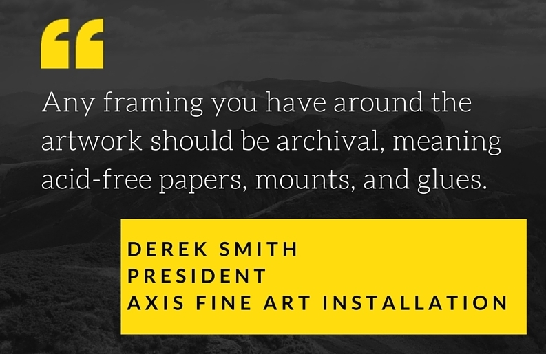 Art Collector Chatter Why You Need to Use Acid-Free Artwork Archive