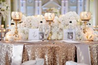 White, Silver & Gold Wedding at The Biltmore Ballrooms in ...