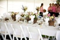 Tented Wedding with Nature-Inspired Dcor in Jackson Hole ...