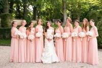 Brides & Bridesmaids Photos - Nine Blush Bridesmaid ...