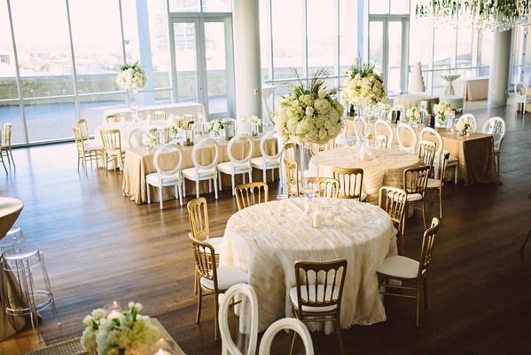 White Winter Wedding at an Art Museum in Charlotte, North Carolina