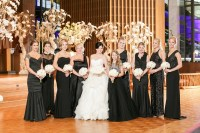 Brides & Bridesmaids Photos - Bridal Party in Black for ...