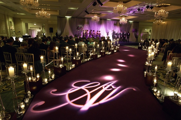 Purple Hued Timeless Wedding In Chicago Illinois Inside