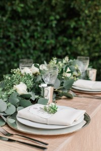 Reception Dcor Photos - Elegant Place Setting for Garden ...