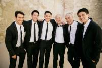 Grooms & Groomsmen Photos - Groomsmen in Skinny Ties ...