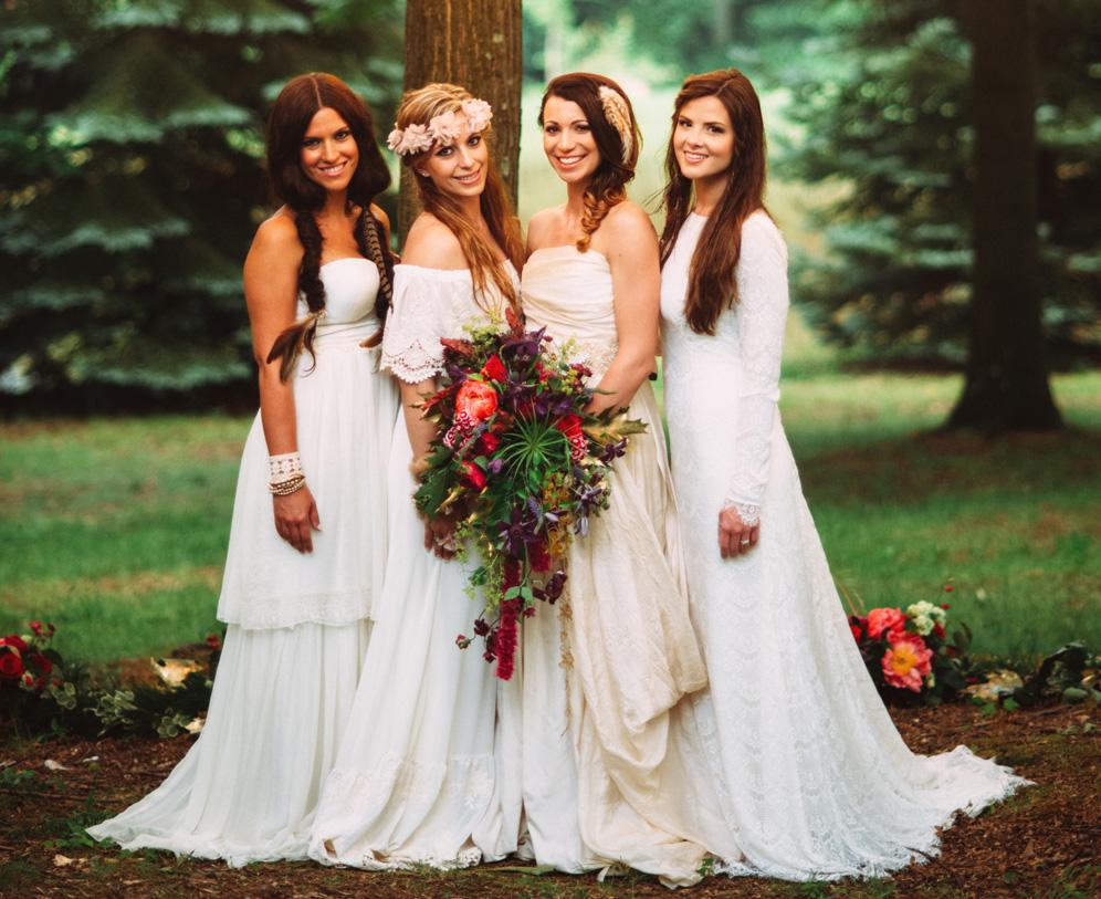 Boho Wedding: Ideas for Nature