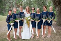 Fall Wedding Ideas: Bridesmaid Dresses for the Fall Season