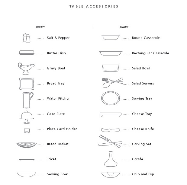 Your Guide to the Perfect Wedding Registry - Inside Weddings
