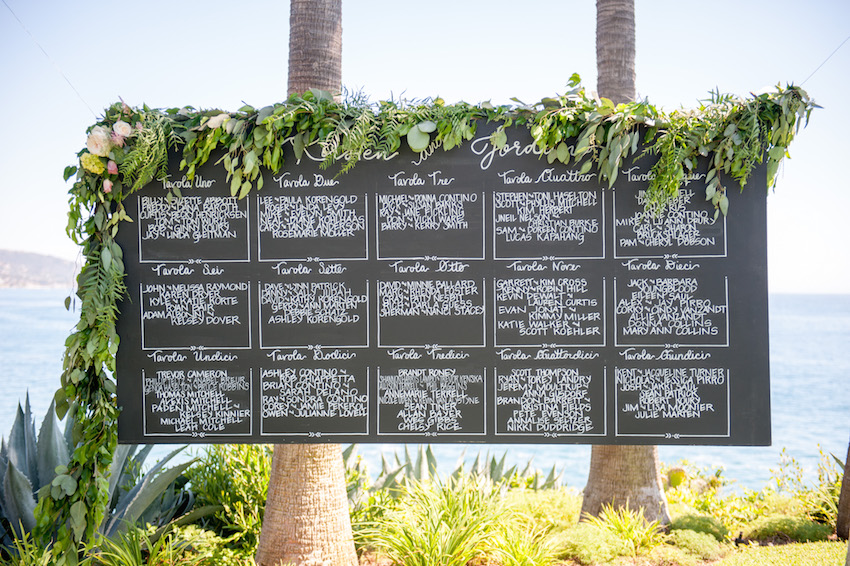 The Pros and Cons of Making a Seating Chart for Your Wedding - a seating