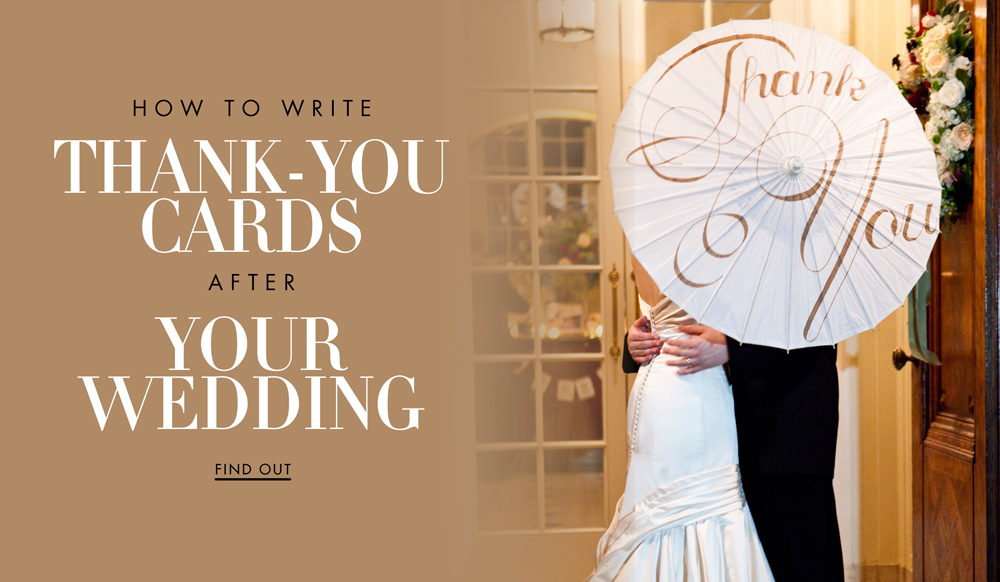 How to Write Wedding Thank-You Cards to Your Guests - Inside Weddings