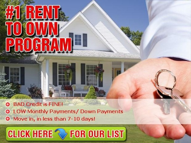 rent to own home listings for free