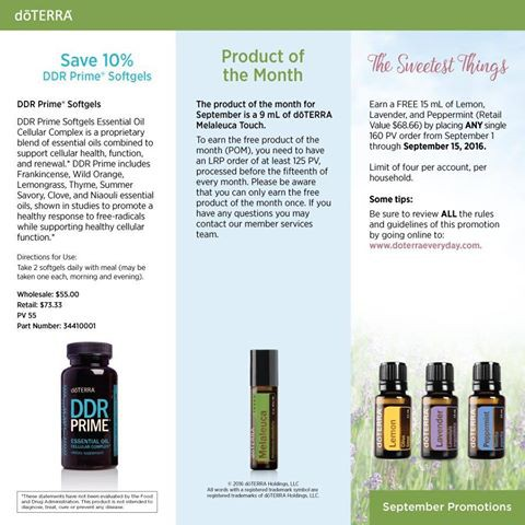 doTERRA News Smore Newsletters
