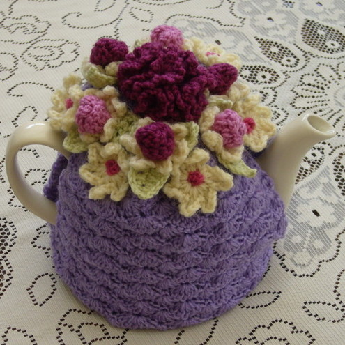 The top five crocheted tea cozy patterns this simple tea cozy is