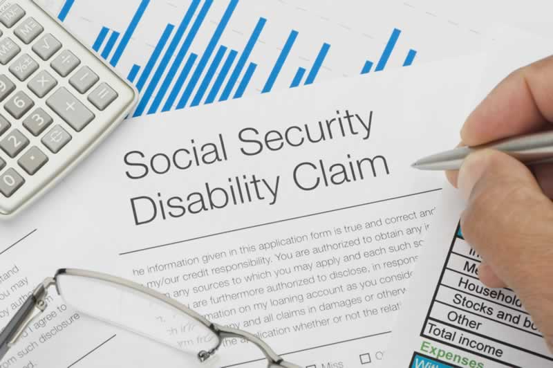 Help Filing Your Social Security Disability Claim Application - disability form