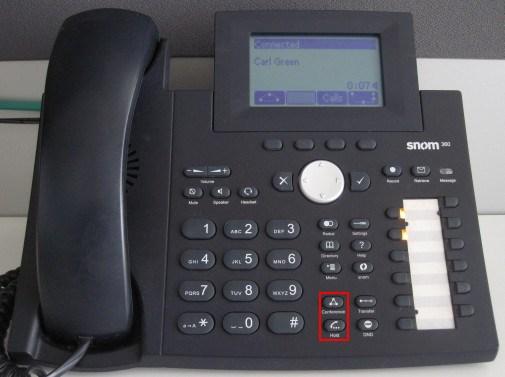 Make a Conference Call Using Snom 320/360/370