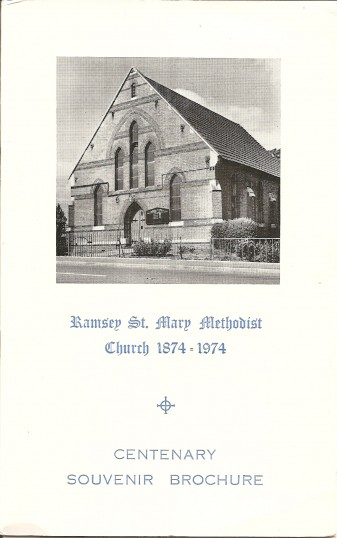 Centenary Brochure Ramsey St Mary\u0027s Methodist Church Religious