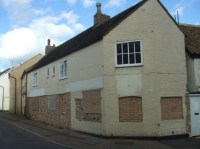 South Street, former Fireplace Centre, bricked up ...