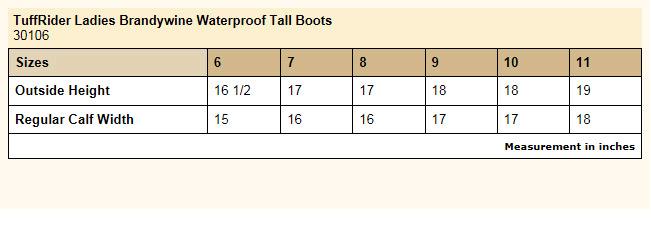 Tuffrider Brandywine Waterproof Tall Boots Ladies HorseLoverZ