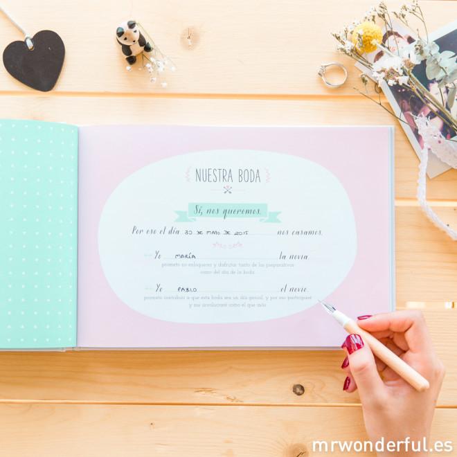 Organizador de bodas - Mr Wonderful