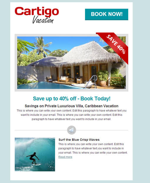 Email Templates for Email Newsletter Campaign