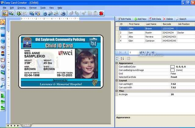 Download Easy Card Creator Free 112060