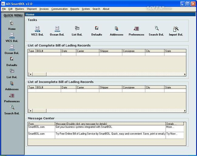 Download SmartBOL Bill of Lading Software 11115