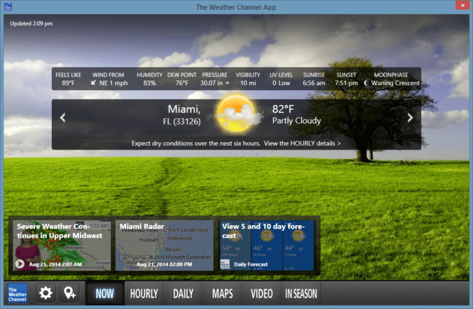 weather channel desktop 6