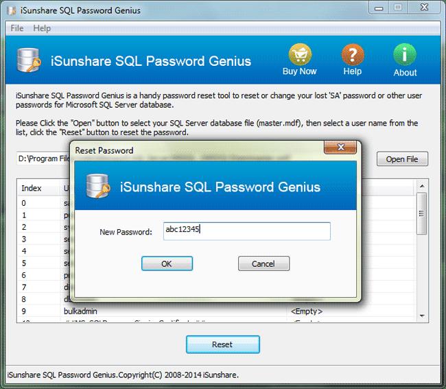 windows password genius