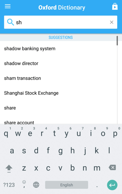 Download Oxford Dictionary of Finance and Banking 8.0.245 for Android