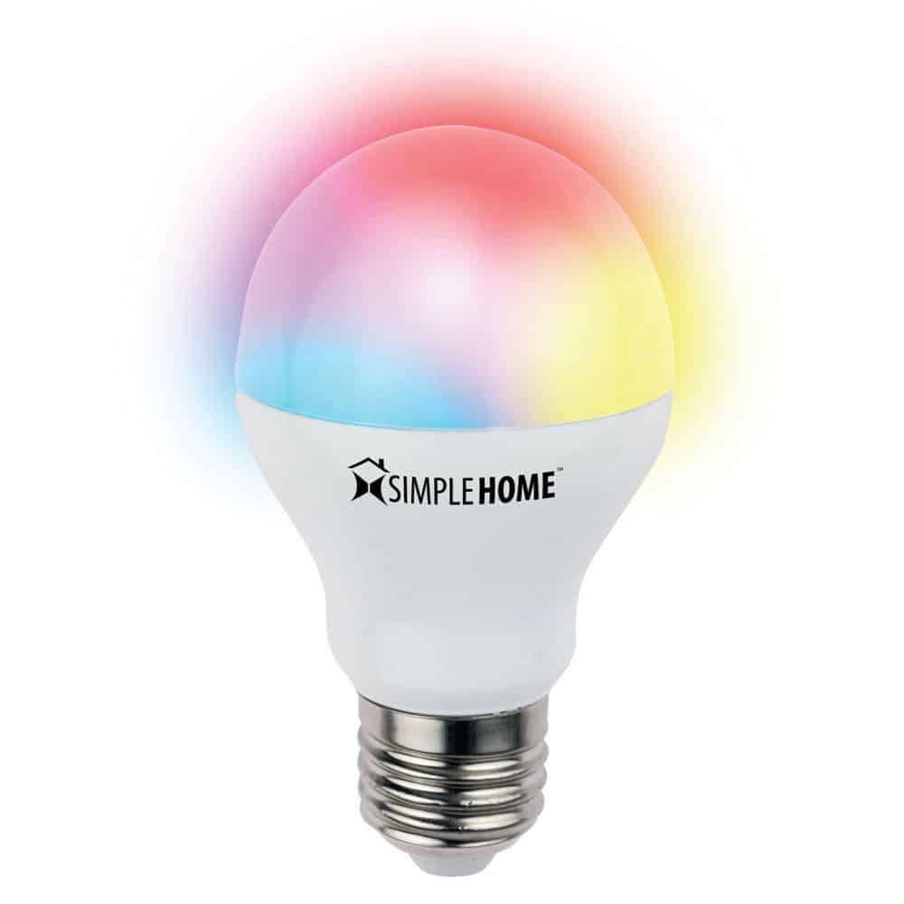 Smart Led Bulb Simplehome Xlb7 1002 Wht Wi Fi Multicolor Smart Led Bulb Deals