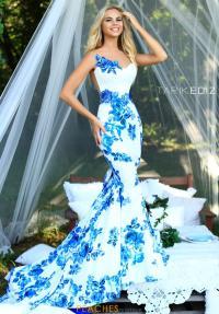 Tarik Ediz Dress 50228 | PeachesBoutique.com