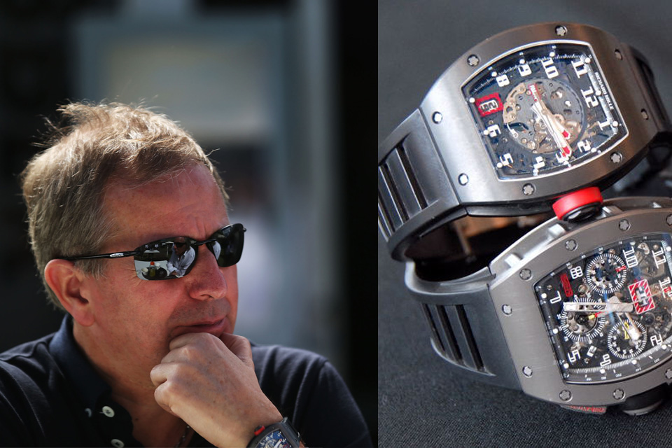 Rolex Uhr Oyster Perpetual Watching Celeb Watches: Martin Brundle And His Richard
