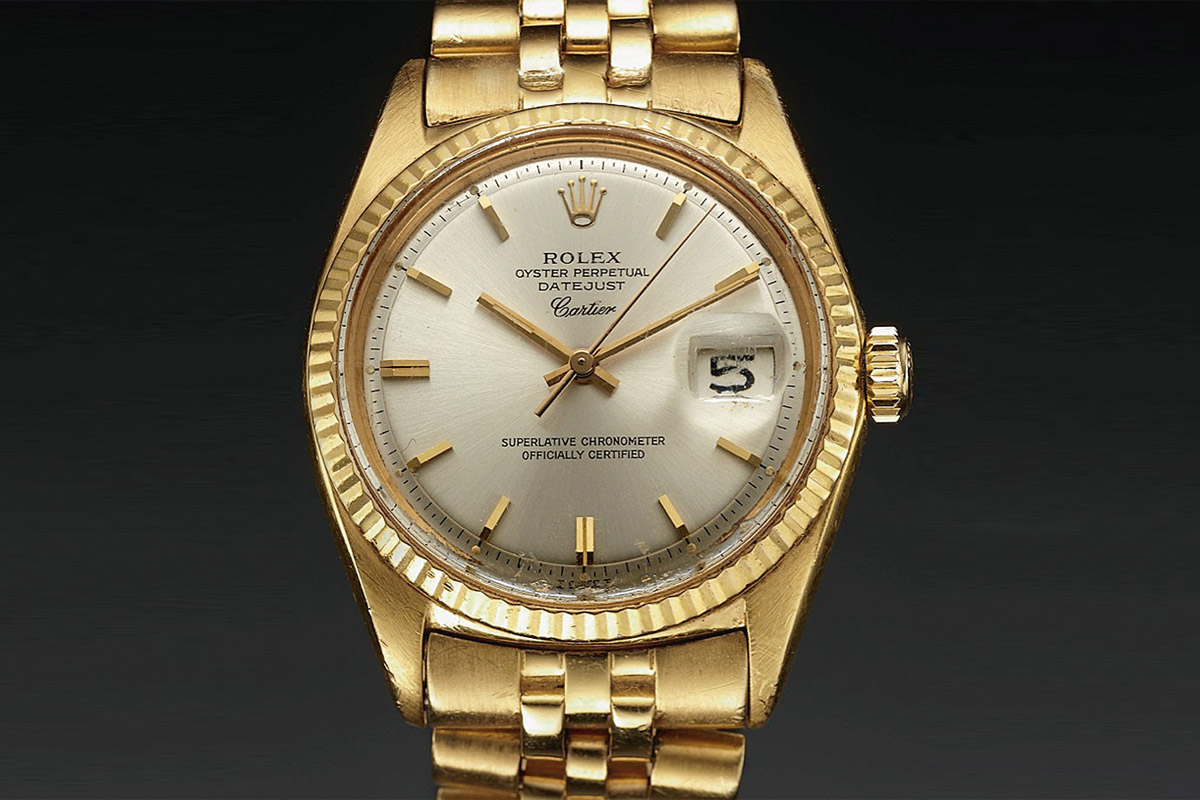 Watchtime Wednesday The History Of The Rolex Datejust Monochrome Watches