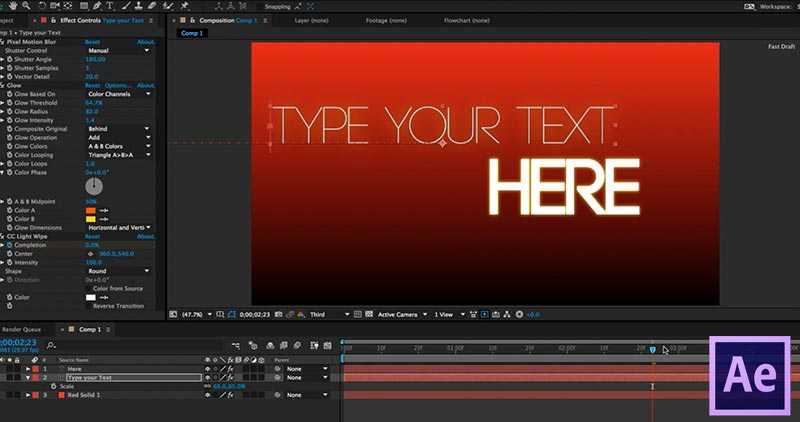 Intro to Title Animation in After Effects Making a Dynamic Title - animation title