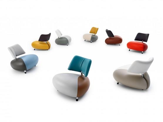 Designer Sessel Parabolica Leolux Leolux Projekte Parabolica . Awesome  Industrial ...