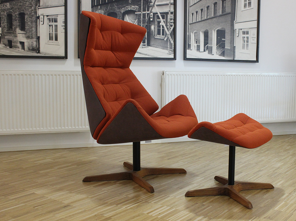 Lounge Sessel Thonet Lounge Sessel Thonet 808 In Orange Designermöbel Göttingen